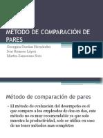 MÉTODO DE COMPARACIÓN DE PARES