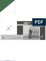 Ut203 Operating Manual