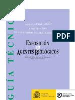 Guía exposición a agentes biológicos