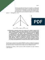 Analisis No Lineal de Antena Cableada