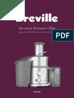 Breville Juicer 800JEXL IB B12 FA Lowres Manual
