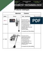 Catalogo Camara Inspeccion Roboticas