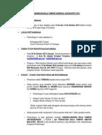 Syarat Dan Peraturan Bola Tampar Anjuran KPKT 2012