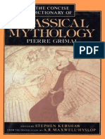Pierre Grimal - A Concise Dictionary of Classical Mythology
