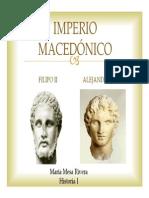 Unidad 4 Imperio Macedónico - María Mesa Rivera