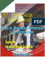 El Ingeniero Supervisor y Sus Funciones Modo de Compatibilidad