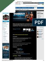 Best Exercise for Plyometrics
