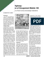 ARMOR MAGAZINE Destruction Groupement Mobile