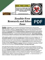 Zombie Public Service Announcement