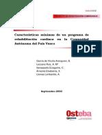 Cardio Rehabilitacion Osteba 2003