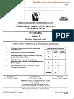 Kimia Kertas 3 Ting 4 Pertengahan Tahun 2012 Terengganu