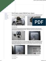 CDROM Power Adapter