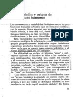 4.1 Comas, Juan 1972, Razas y Racismo, Pp 13 - 23
