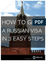 Russian Visa in 3 Easy Steps eBook