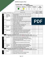 5S Office Area Audit Sheet