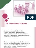Comunicarea in Afaceri