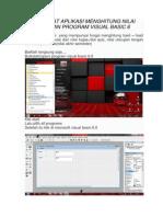 Membuat Aplikasi Menghitung Nilai Dengan Program Visual Basic 6