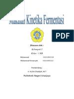 Cover Kinetika Fermentasi