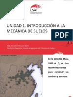 UNIDAD 1. LA MECÁNICA DE SUELOS
