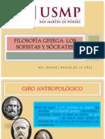 Filosofía griega. Sofistas y Sócrates