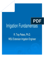 Troy Peters Irrigation Fundamentals 2009