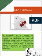 Tipos y Caracteristicas de La Planeacion
