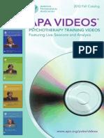 Catalog Videos APA