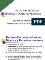 Declaración universal sobre Bioética y Derechos Humanos clase2008.ppt