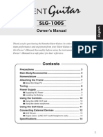 Yamaha SLG100s Manual