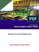 Diesel Engine Power Plants