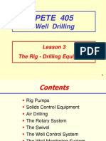 the Rig - Drilling Equipment