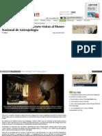 Arte y cultura griega atraen visitas al Museo Nacional de Antropología