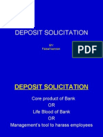 Deposit Solicitation