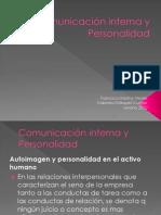 Comunicación interna y Personalidad