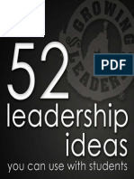 52 Leadership Ideas