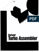 Borland Turbo Assembler 5.0 User's Guide