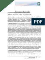 Lectura 1 - El Concepto de Sociedades