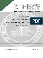 Vacuum Brakes Systems (1944) TM 9-1827B