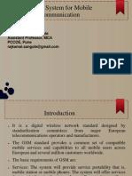 Unit 3 Global System for Mobile Communication