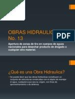 Obras Hidraulicas No. 13