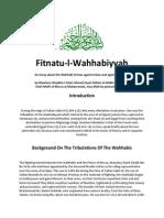 Fitna tul Wahabiyyah