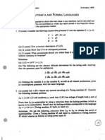 1995-Automata and Formal Languages-Solutions