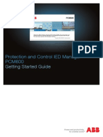 PCM600 Getting Started Guide 757866 ENa