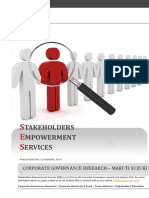 SES Corporate Governance Research - Maruti Suzuki - 11 February