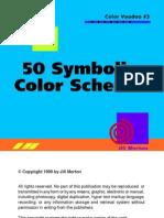 50 Symbolic color schemes