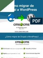 Cómo migrar de Drupal a WordPress con CMS2CMS