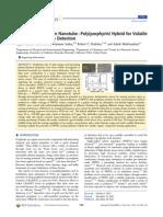 SWCNT-Poly(Porphyrin) Sakar, Et Al. J of Physical Chemistry, 2014