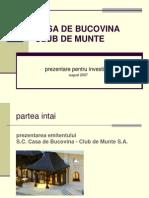 Casa de Bucovina - Club de Munte-final