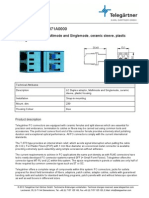 J08071A0000 - Adapter LC-LC Duplex optička spojnica SM i MM - TELEGÄRTNER