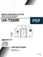 Jvc, Ux t250r